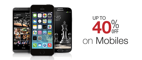 Up to 40% off on mobiles in Amazon India