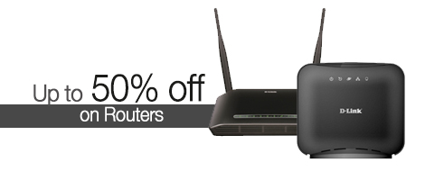 Up to 50% off on Routers