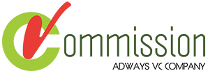 vCommission - Best CPA affiliate marketplace network transparent logo