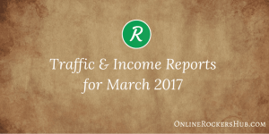 ORH Monthly Traffic and Income Report – March 2017 Edition