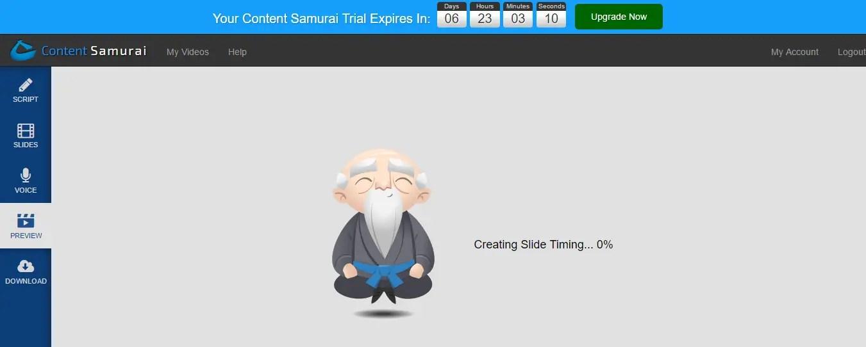 Creating preview in Content Samurai