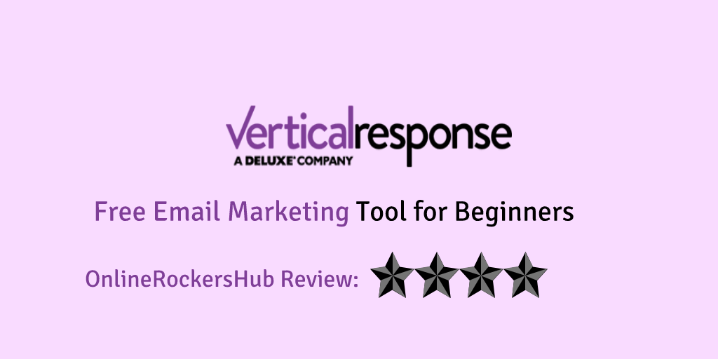 VerticalResponse review: Free email marketing tool for beginners