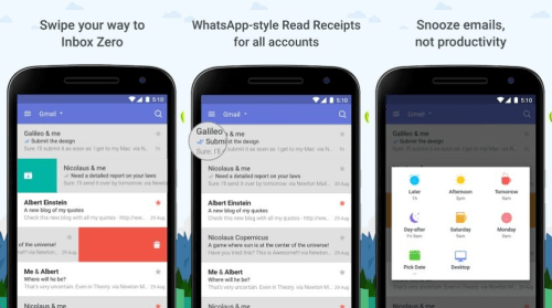 Newton Email android app