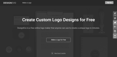 DesignEVO Review – Create transparent logos just for free