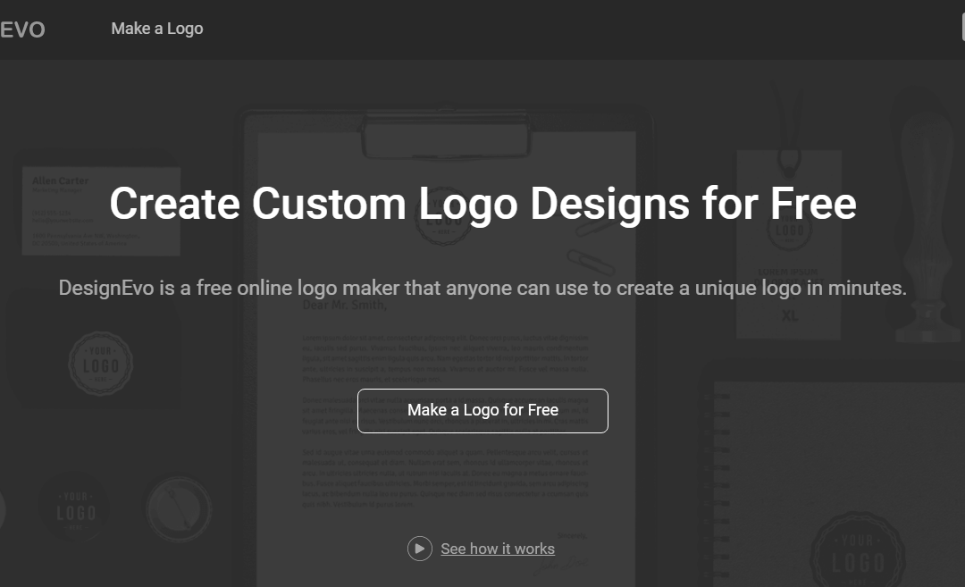 DesignEVO Review – Create unique logo just for free