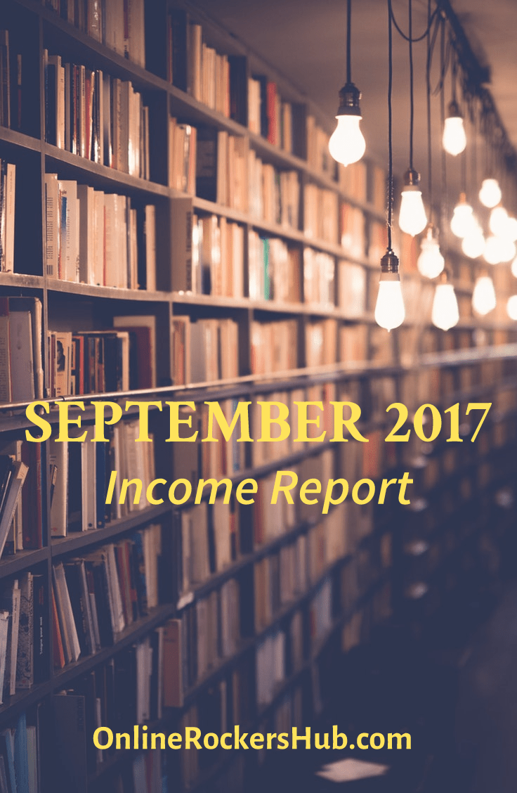 OnlineRockersHub Monthly Traffic and Income Report September 2017 Pinterest Image