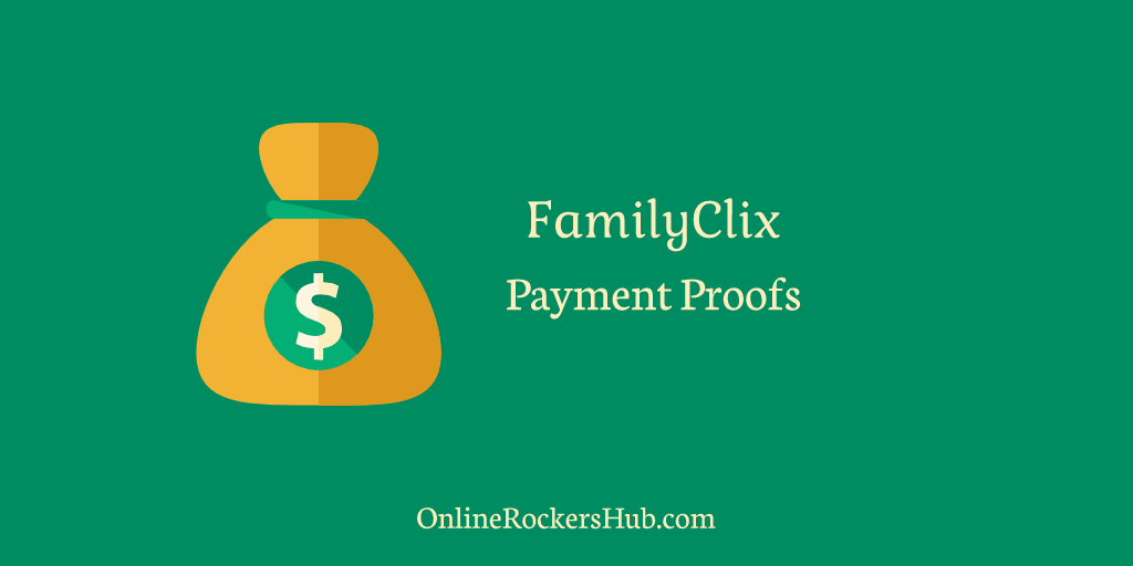 FamilyClix Payment Proofs
