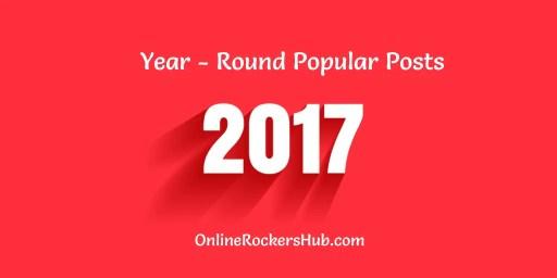 Year-round Popular posts from OnlineRockersHub in 2017