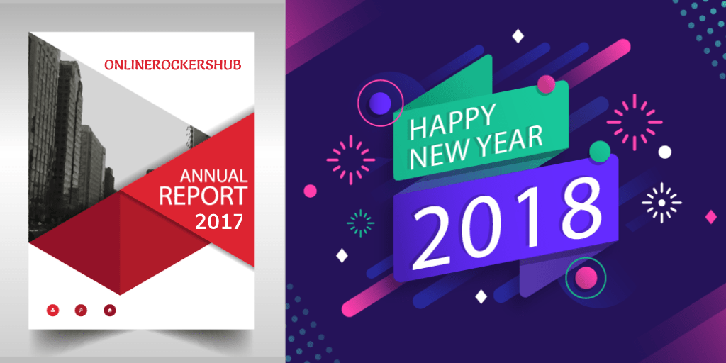 OnlineRockersHub Annual Report 2017 and Happy New Year 2018 🎉