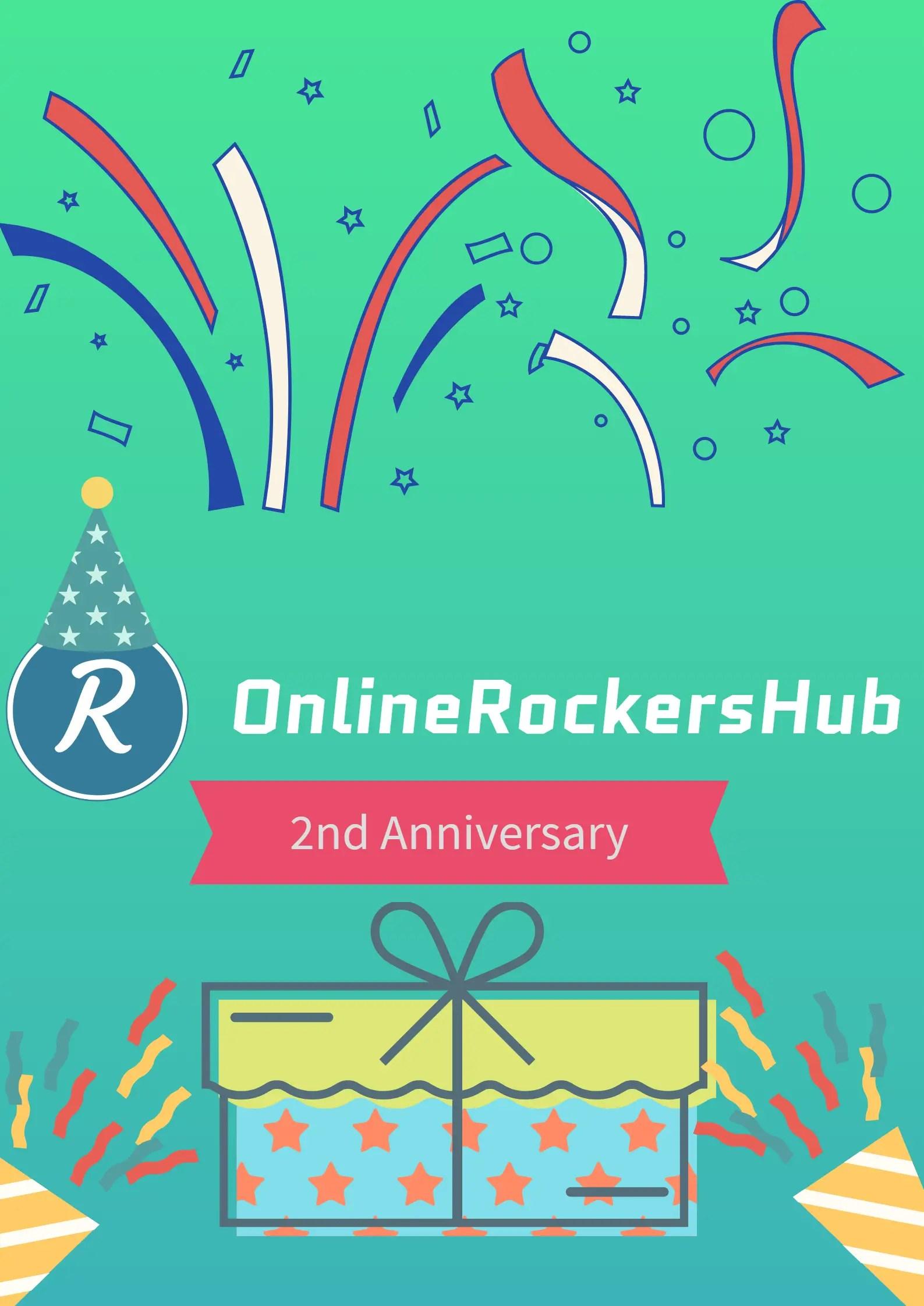 Happy 2nd Anniversary OnlineRockersHub
