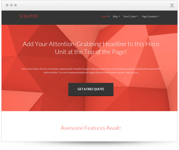 Buy Thrive Squared Theme for $49