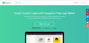 DesignEVO Review - Popular tool to create a compelling Logo for your Blog 2