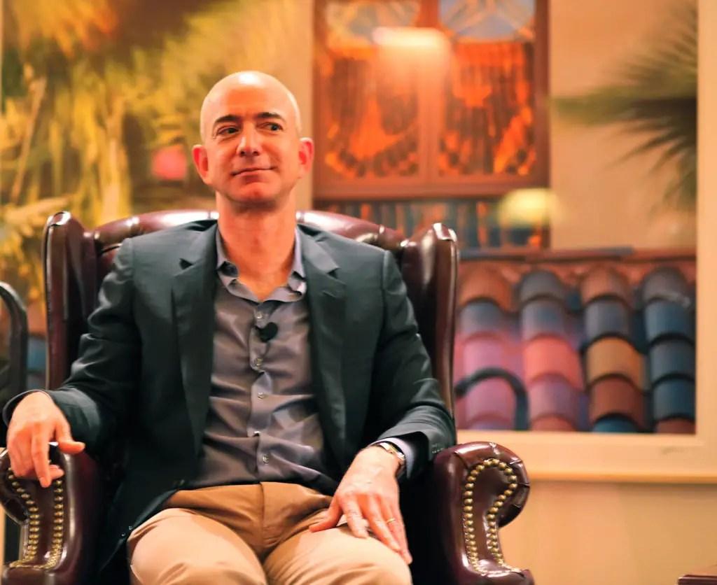Jeff Bezos- The founder of Amazon