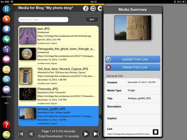 BlogPad Pro app on the App store