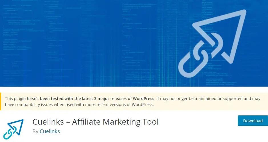 Cuelinks Affiliate Marketing Tool WordPress Plugin