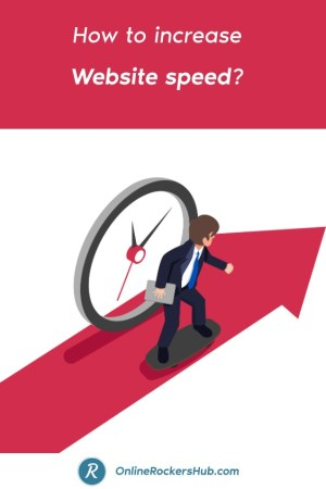 How to increase website speed in 2019_ - Pinterest Image