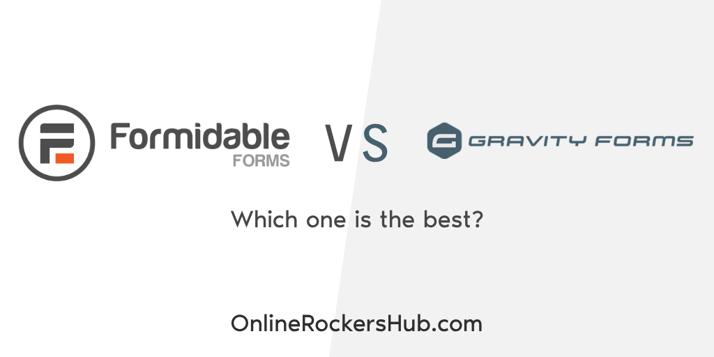 Formidable Forms vs Gravity Forms - Which one is the best