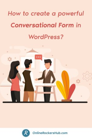 How to create a powerful Conversational Form in WordPress_ - Pinterest Image