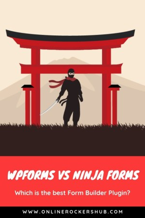 WPForms vs Ninja Forms: Which Is The Best Form Builder Plugin - Pinterest Image