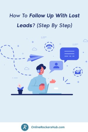 How To Follow Up With Lost Leads_ (Step By Step) - Pinterest Image