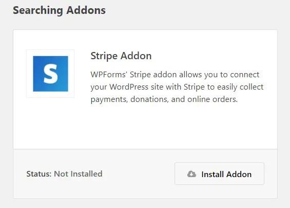 stripe add-on