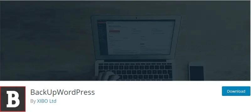 BackUp WordPress - WordPress Backup Plugin