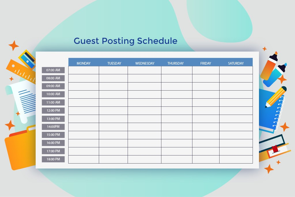 Guest Posting Schedule