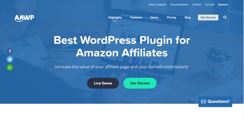 Amazon Affiliate WordPress Plugin Black Friday Sale