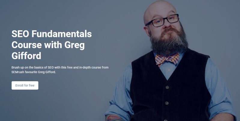 SEO Fudamentals Course with Greg Gifford