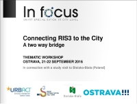 infocus internation conference connecting ris to cities