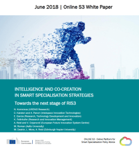 white paper: Intelligence and co-creation in Smart Specialisation Strategies: Towards the next stage of RIS3