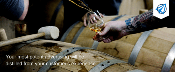Distilling Experience Into Advertising for Your Small Business - Open Sky Copywriting