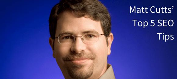 Matt-Cutts-Top-5-SEO-Tips on how to write SEO content