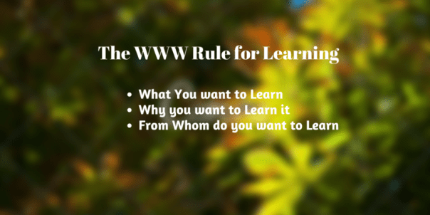 What You want to LearnWhy you want to (1)
