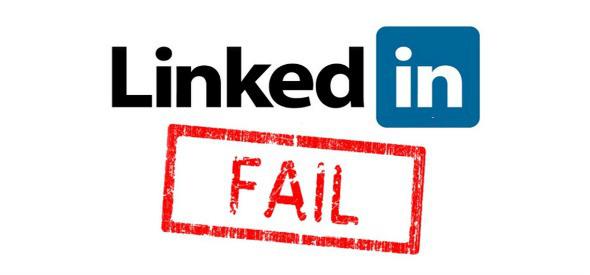 LinkedIn Mistakes WordPress