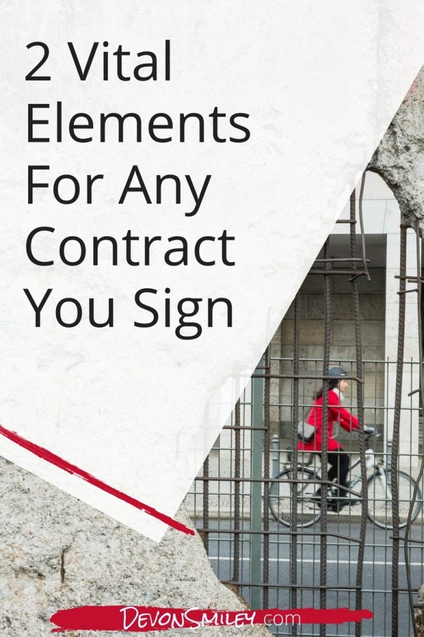 How To Avoid Getting Trapped In A Bad Contract