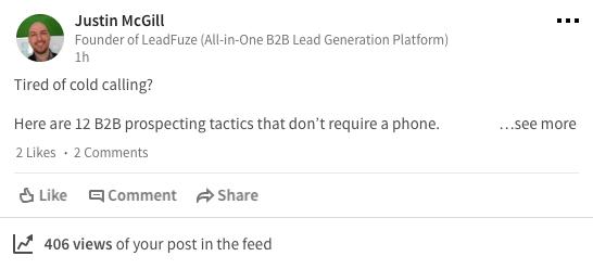 A Social Media Marketing Plan for the Fake News Generation