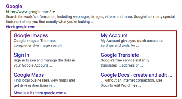 Making Use of Google's Structured Data