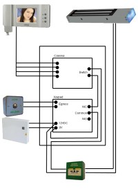 Electronic Keypad Door Lock Circuit. electronic door ...