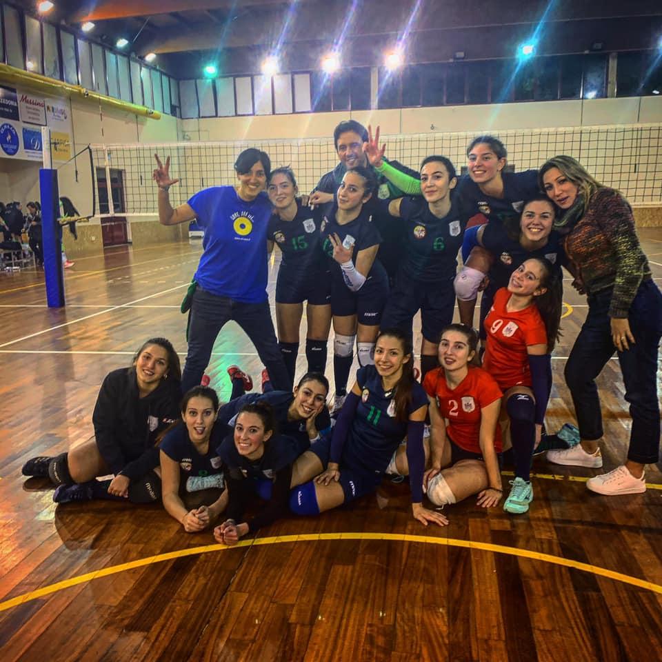 Pallavolo femminile: Bum bum Eurialo. Vinto il big-match interno col Carlentini