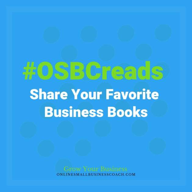 #OSBCreads - Share your favorite business book