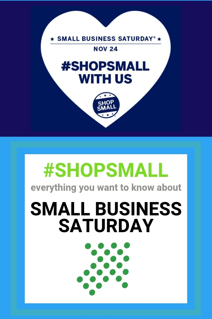 What is #shopsmall Small Business Saturday