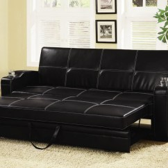 Sofa Bed In Mumbai Moroccan Style Seating Buy Black Color Leather Online At