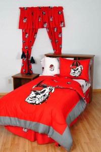 Georgia Bulldogs Comforters Price Compare