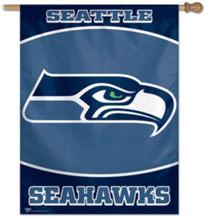"Seattle Seahawks 27"" x 37"" Vertical Flag / Banner from WinCraft"