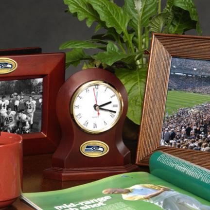 Seattle Seahawks Desk Clock