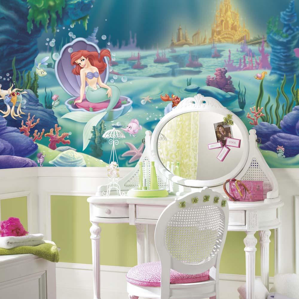 disney flip open sofa bed modern benches little mermaid decor - totally kids, bedrooms ...