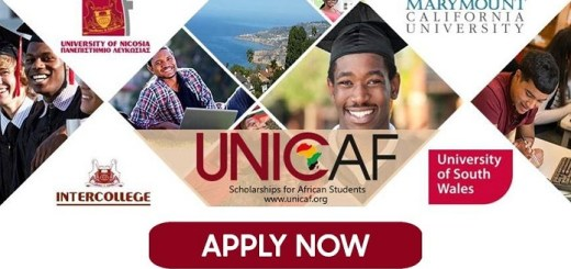 Unicaf University of South Wales Online Masters Degree Scholarships