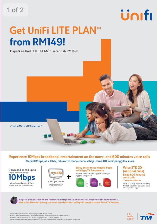 UniFi Lite Plan 2017, UniFi Lite Speed 10Mbps, UniFi Lite Plan 129, UniFi Lite Check Coverage