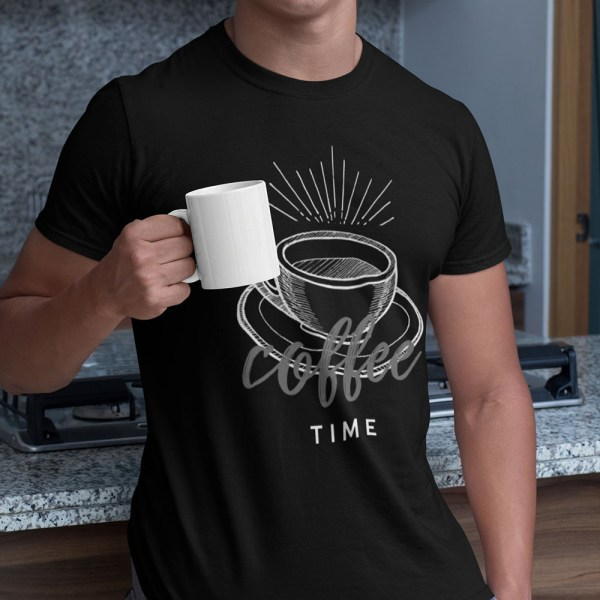 Coffee Time Men T Shirts